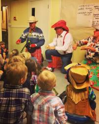 Thank you Sunshine Clowns for the entertainment for the kids