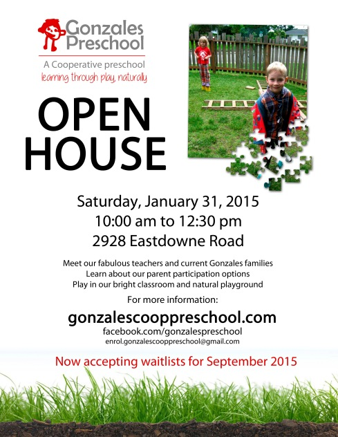 open house poster copy