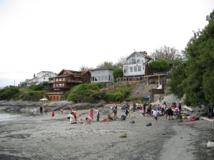 Field trip to Gonzales Beach