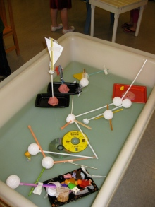 Creative boat making and experimenting